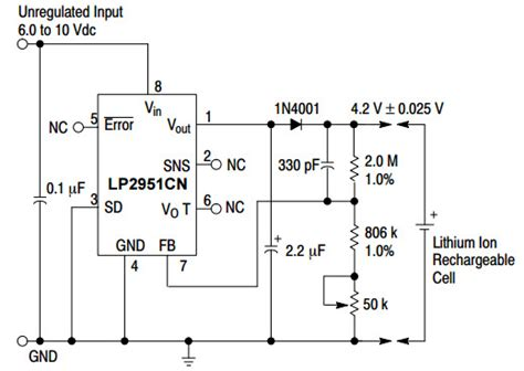 an output capacitorless low dropout regulator with direct voltage spike detection lp2951 typical application reference design dc to dc single output power supplies arrow