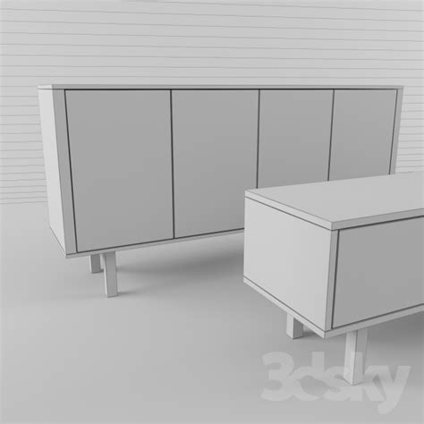 3d models sideboard chest of drawer ikea undredal 3d models sideboard chest of drawer ikea stockholm