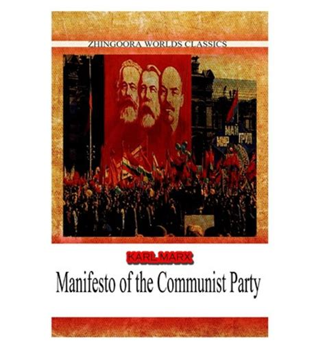 manifesto of the communist books manifesto of the communist karl marx 9781478388999