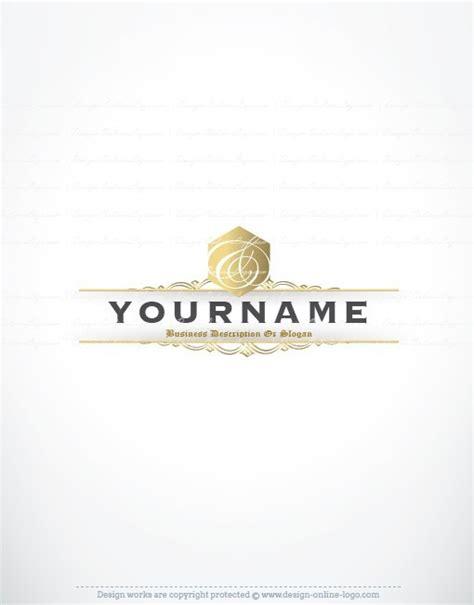 free elegant logo design exclusive design elegant initial logo free business card