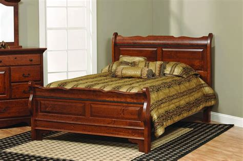 solid wood bedroom sets queen solid wood bed frame queen amish solid wood sleigh raised