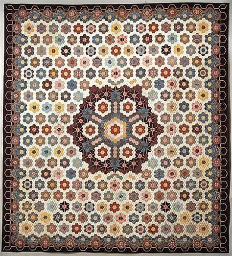 Hexagon Quilts Patterns by Quilt Hexagon Or Honeycomb Pattern Hexies