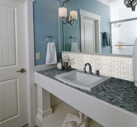 mother of pearl tiles bathroom mother of pearl shell mosaic tile shower bath mirror wall backsplash