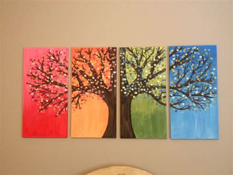 Paintings To Decorate Home by Diy Easy Canvas Painting Ideas For Home