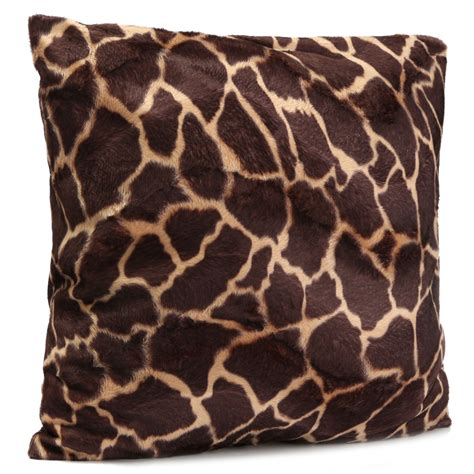 leopard print couch covers leopard animal print pattern pillow case sofa waist throw