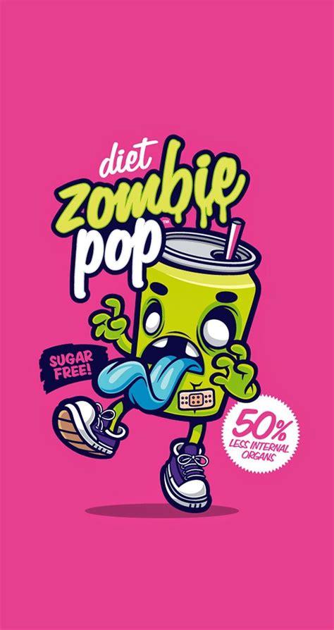cute funny pop art cartoon wallpaper  iphones diet