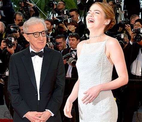 emma stone woody allen movie emma stone tried to teach woody allen twitter with his own