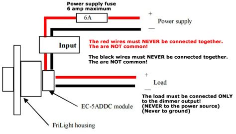 12v switch wiring diagram ef1206 12 volt led dimmer switch 5 s max rotary on dimmer switch 5 color options