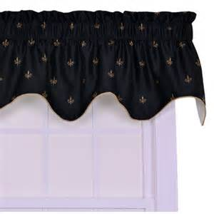 Fleur De Lis Kitchen Curtains Ellis Curtain Fleur Di Lis Filler 50 Quot Curtain Valance Reviews Wayfair