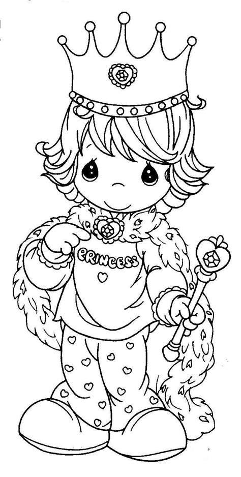 princess picture to color coloring pages for kids