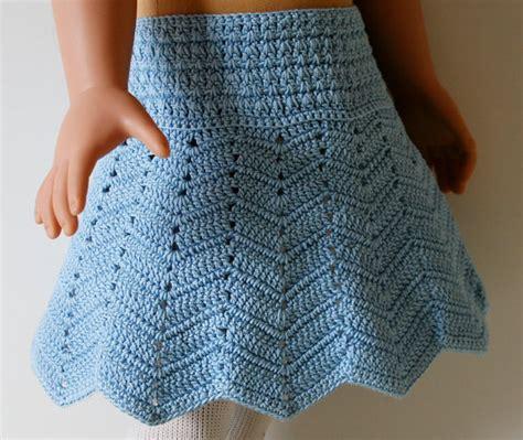 pattern crochet skirt items similar to crochet chevron skirt pattern for 18 quot and