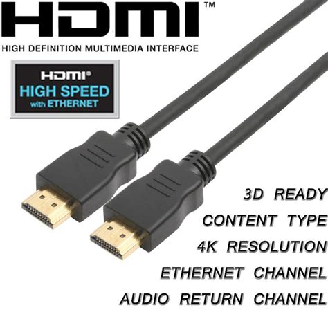 cablebuilders high speed hdmi with ethernet cables