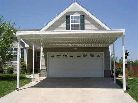carport attached to garage house with carport house plan 2017