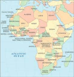 Countries Of Africa Map by Africa Map Map Pictures