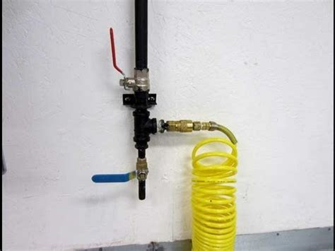 shop compressor pipe setup