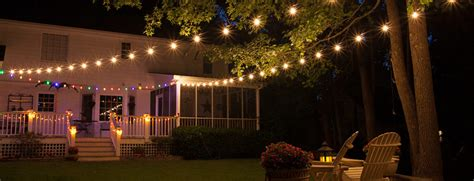 outdoor lighting patio patio lights yard envy