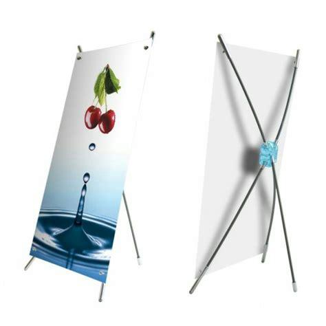 Jual Stand Banner by Jual Rangka Stand X Banner Mini Outdoor Harga Murah Ukuran
