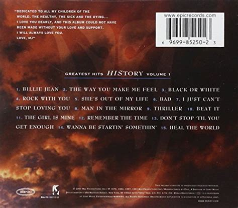 Cd Michael Jackson Michael Imported greatest hits history vol 1 buy in uae