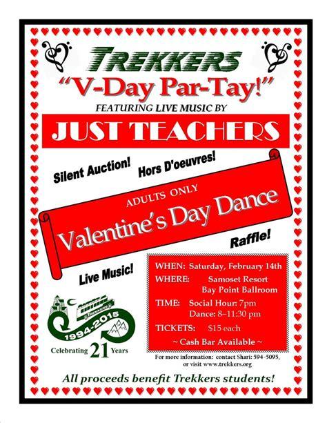 valentines fundraiser valentine s day fundraiser trekkers