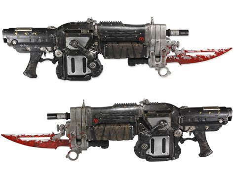Imagenes De Retro Lancer | gears of war 3 retro lancer from neca the toyark news