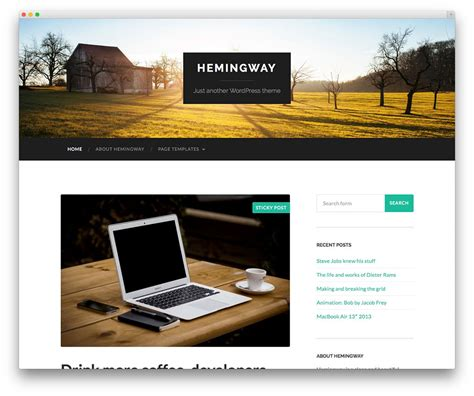 50 attractive photography wordpress themes for 2016 50 stunning free responsive wordpress themes to