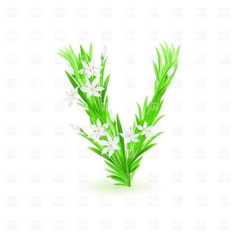 flower letters clipart clipart suggest letter v clipart clipart suggest
