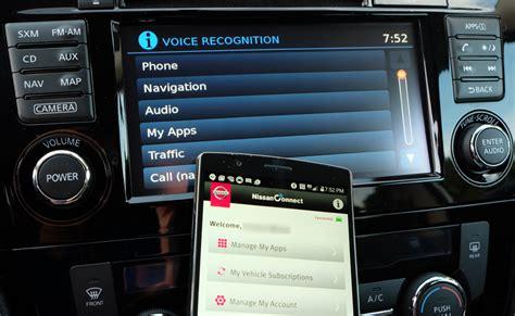 review smartphones   nissanconnect infotainment