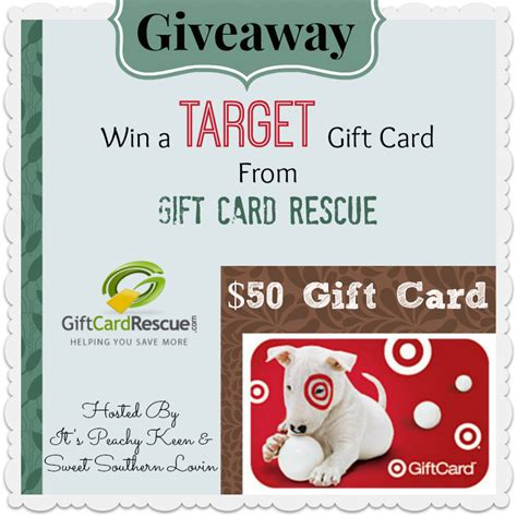 Exchange Target Gift Card For Cash - 50 target gift card giveaway it s peachy keen