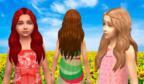 sims 4 kids hair cc mystufforigin sensitive hair for girls sims 4 hairs