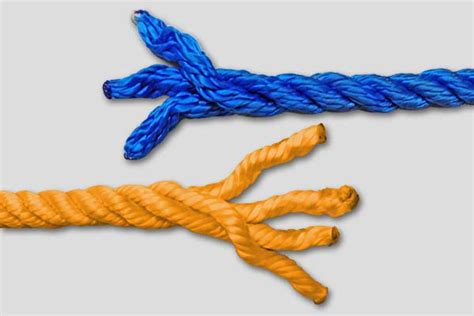 How To Splice A L Cord by Rope Properties Fiber Fibers Rope Structure