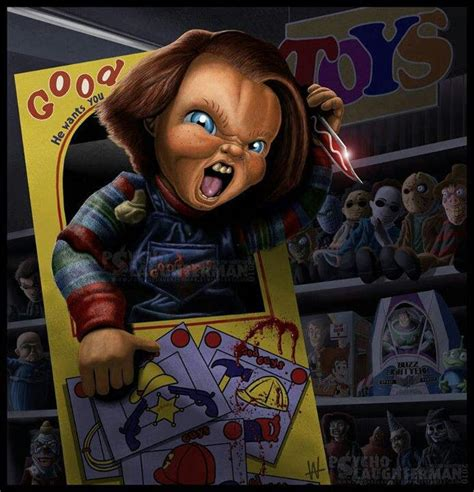 chucky film series wikipedia friends till the end horror art pinterest
