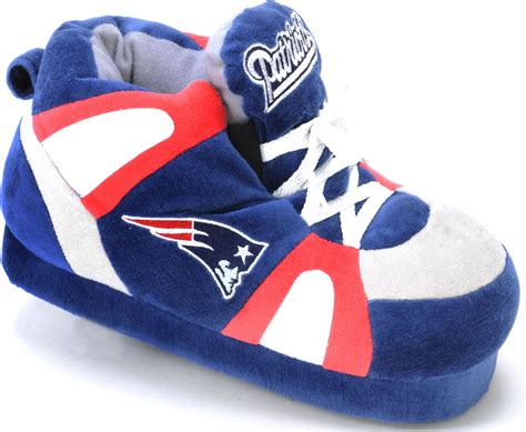 new patriots shoe style slippers