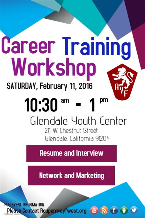Sample Of Students Resume by Career Training Workshop To Take Place In Glendale