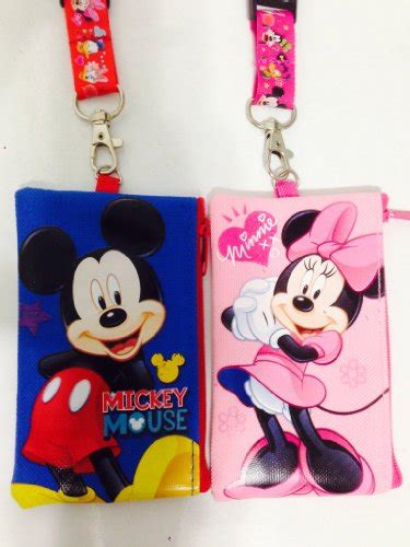 Gop Shortsleeve Minnie Blue Dress disney set of 2 mickey and minnie mouse lanyards with
