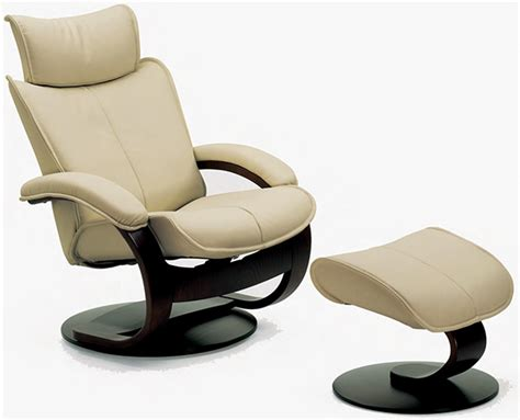 ergonomic chair and ottoman fjords ona ergonomic leather recliner chair ottoman