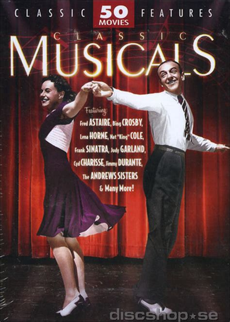 western classics 50 pack 12 50 pack classic musicals 12 disc import dvd