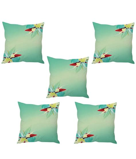 Setelan Anak N Bab Set Blue Flower stybuzz baby blue floral cushion cover set of 5 buy at best price snapdeal