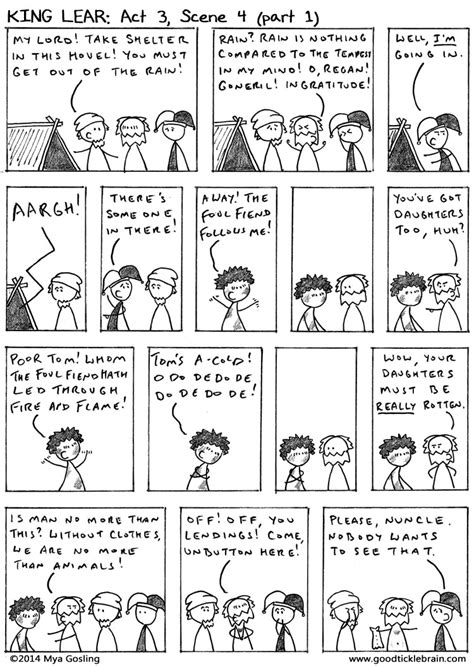 Mostly Human Book One tickle brain a mostly shakespeare webcomic