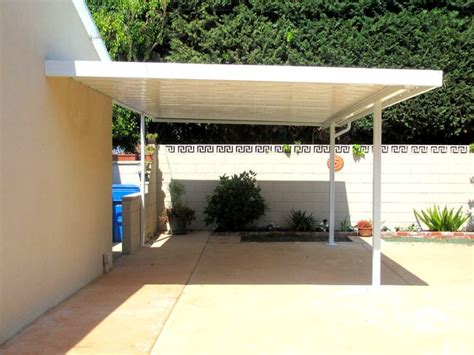 Carports Awnings by Aluminum Carport Traditional Garage And Shed Los