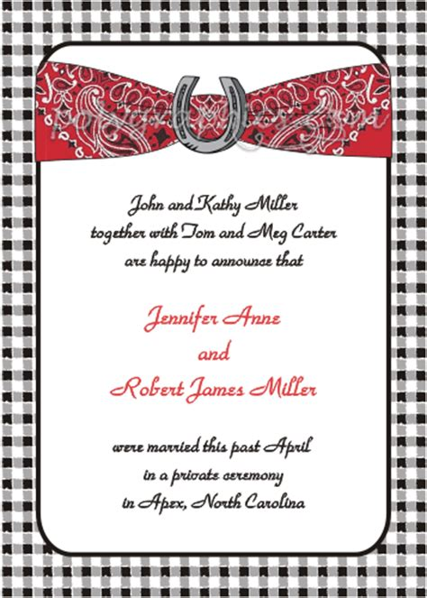 Western Wedding Clipart by Western Wedding Clipart Invitations Ideas