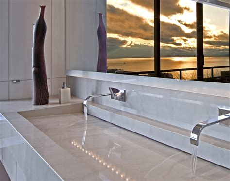 double trough sink bathroom trough sink bathroom bathroom contemporary with integrated
