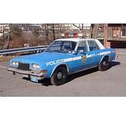Dodge Diplomat NYPD Police Carjpg  Wikimedia Commons