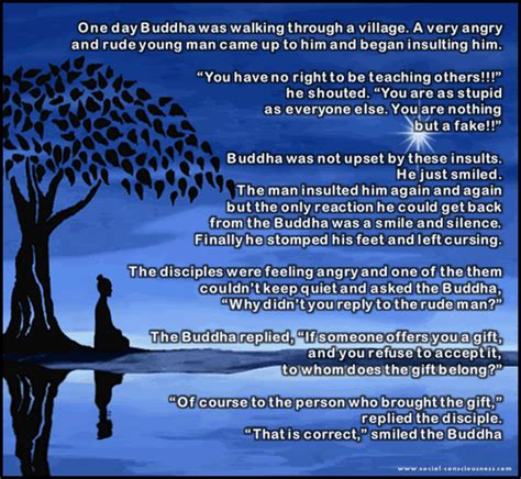 a gift of a story story on anger and gift by gautam buddha dont