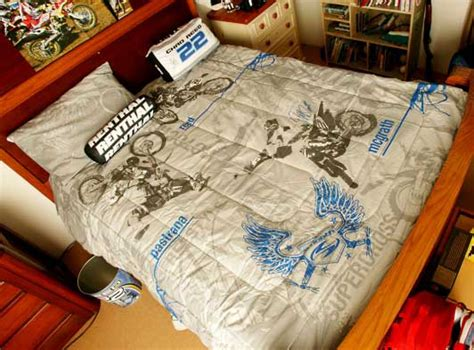 Motocross Bedding Sets Motocross Supercross Comforter And Sheet Set