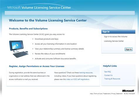 service license overhauled volume licensing service center vlsc rolled out softpedia