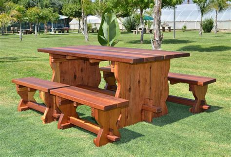 natural bench natural wood outdoor dining table with benches