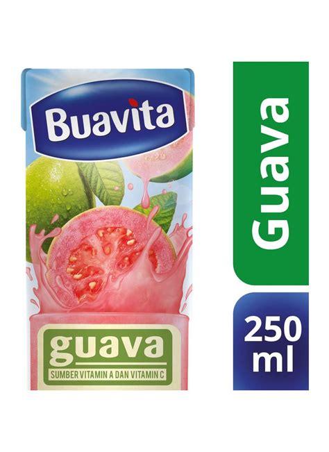 Buavita Guava Juice 250ml buavita juice slim 82314 jambu tpk 250ml klikindomaret