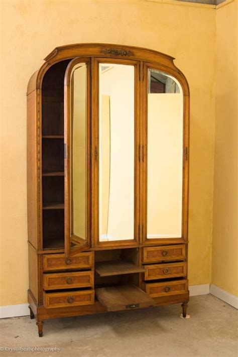 art deco armoire for sale art deco armoire dressing table compendium and bed for