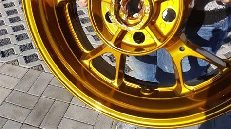 Felgen Lackieren Pulverbeschichten by Der Felgendoktor Saalfeld Chrom Gold Pulverbeschichten