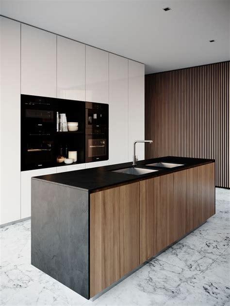 muebles de madera modernos muebles de cocina dise 241 os modernos de madera colgantes